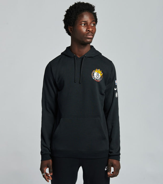 Nike  Brooklyn Pullover Club Fleece Hoodie  Black - CU0093-010 | Jimmy Jazz