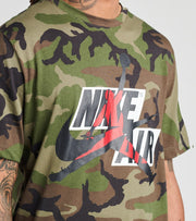 Jordan  Jumpman Classics Camo Short Sleeve Crew   Green - CU2072-222 | Jimmy Jazz