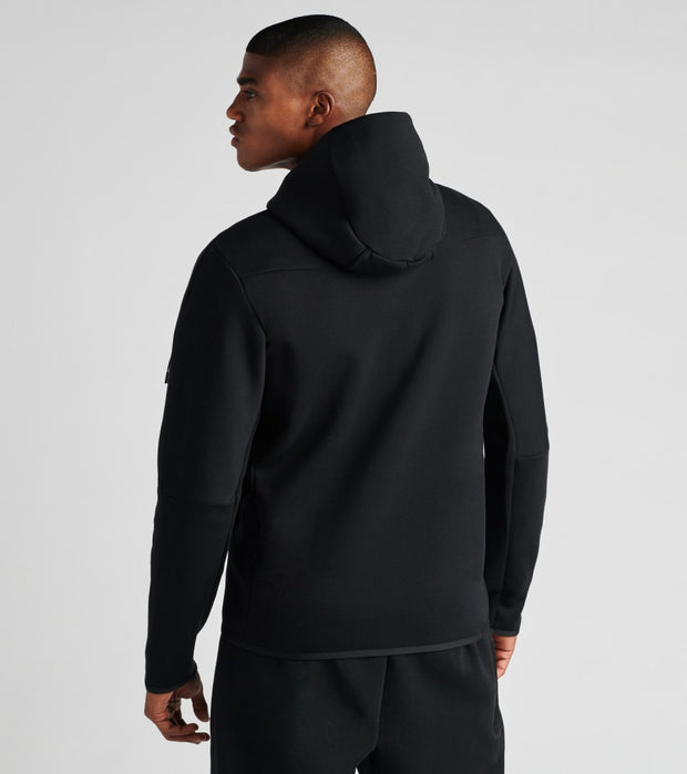 Nike  NSW Tech Fleece Full Zip Hoodie  Black - CU4489-010 | Jimmy Jazz