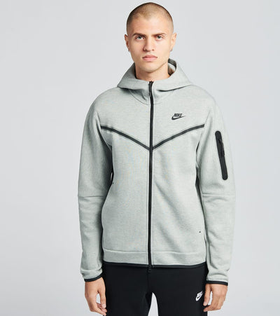 Nike  NSW Tech Fleece Full Zip Hoodie  Grey - CU4489-063 | Jimmy Jazz