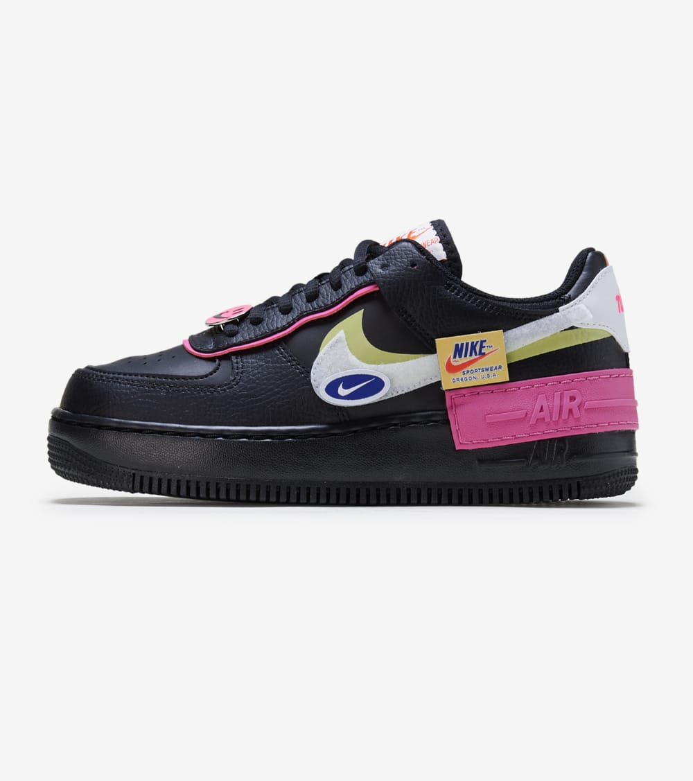 Nike  Air Force 1 Shadow  Black - CU4743-001 | Jimmy Jazz