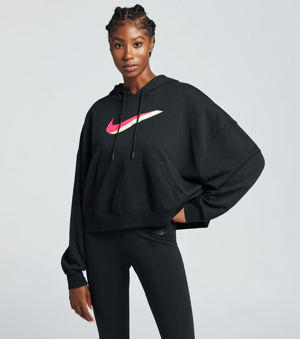Nike  NSW Icon Clash Fleece Hoodie  Black - CU5108-010 | Jimmy Jazz