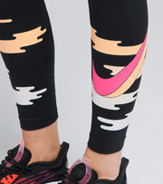Nike  NSW Icon Clash High Waisted Leggings  Black - CU5110-010 | Jimmy Jazz