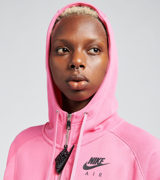 Nike  NSW Air Full Zip Fleece Hoodie   Pink - CU5442-684 | Aractidf