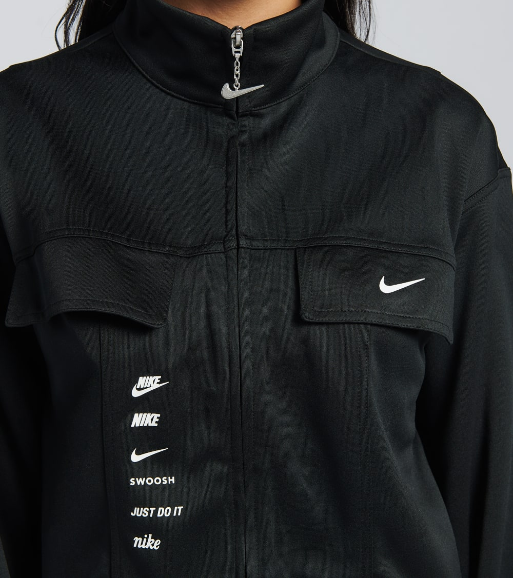 Nike  NSW Swoosh Jacket  Black - CU5678-010 | Jimmy Jazz