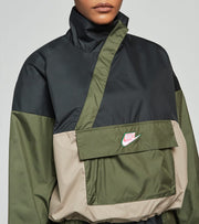 Nike  NSW Icon Clash Anorak Jacket  Black - CU5970-010 | Jimmy Jazz