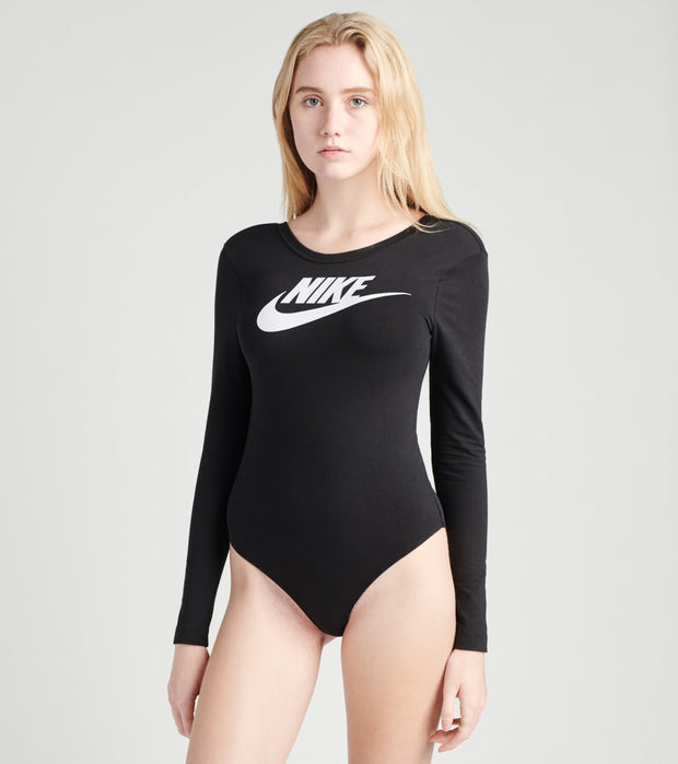 Nike  NSW Essential Long Sleeve Bodysuit  Black - CU6502-010 | Jimmy Jazz