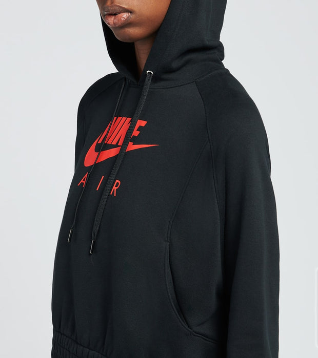 Nike  NSW Air Fleece Hoodie  Black - CU6561-011 | Jimmy Jazz