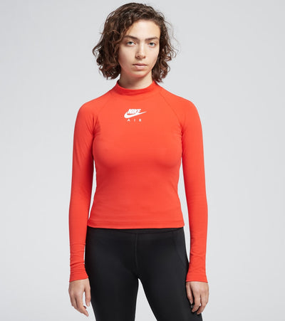 Nike  NSW Air Top Long Sleeve  Red - CU6564-673 | Jimmy Jazz