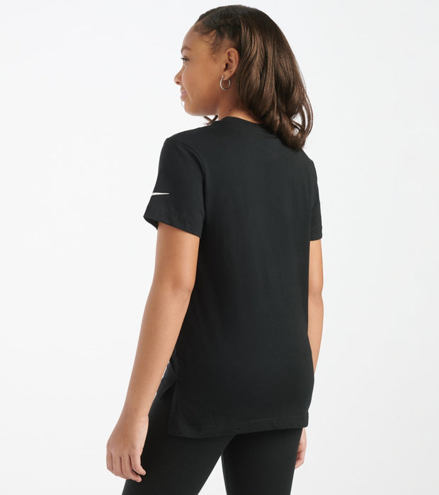 Nike  Girls 7-16 NSW Swoosh Tee  Black - CU6608-010 | Jimmy Jazz