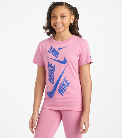Nike  Girls 7-16 NSW Swoosh Tee  Pink - CU6608-693 | Jimmy Jazz