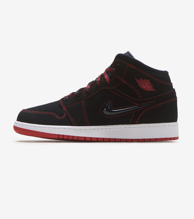 "Jordan  Air Jordan 1 Mid ""Fearless""  Black - CU6617-062 