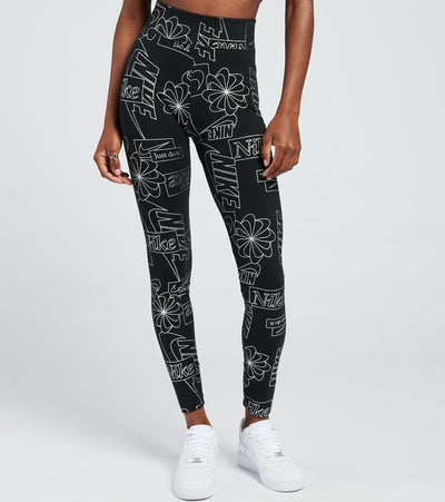 Nike  NSW Icon Clash High Waisted Tights  Black - CU6861-010 | Jimmy Jazz