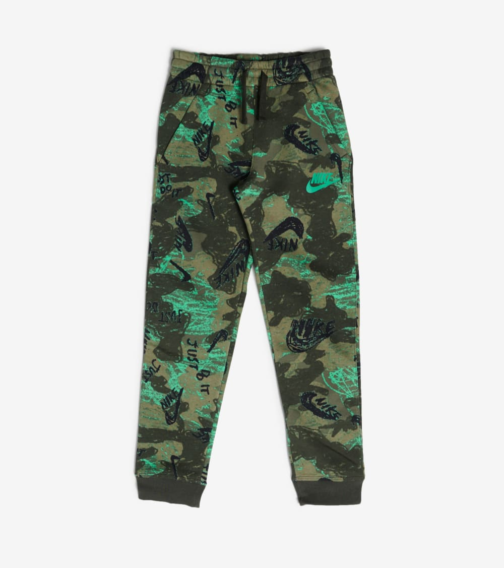 Nike  NSW All Over Print Club Joggers  Blue - CU8929-355 | Jimmy Jazz