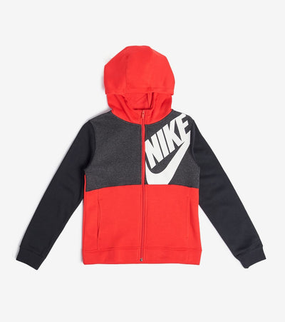 Nike  NSW Boys Full Zip Hoodie  Black - CU9221-657 | Jimmy Jazz