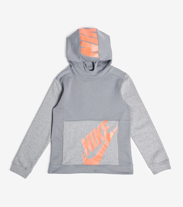 Nike  Boys NSW Pullover Hoodie  Grey - CU9308-084 | Jimmy Jazz