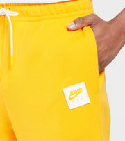 Jordan  MJ Jumpman Fleece Jogger Pants  Yellow - CV2249-739 | Jimmy Jazz
