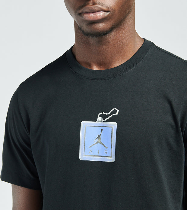 Jordan  MJ Key Chain Tee  Black - CV5157-011 | Jimmy Jazz