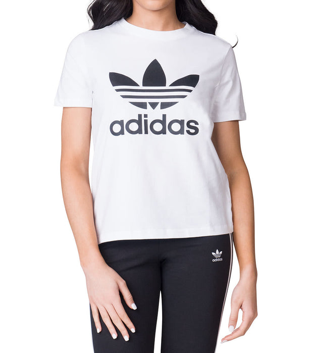Adidas  TREFOIL TEE  White - CV9889-100 | Jimmy Jazz