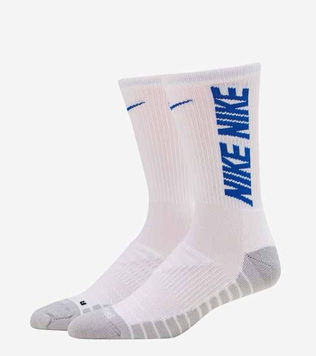Nike  Everyday Cushioned Crew Socks 3 Pack  White - CW0084-902 | Jimmy Jazz