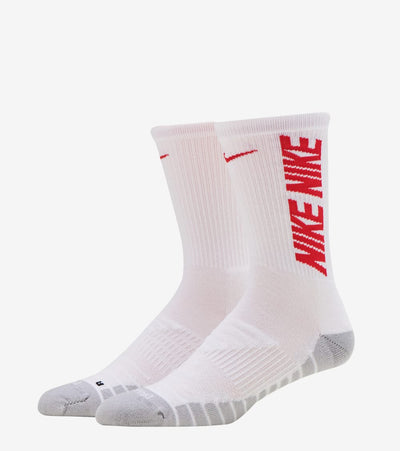 Nike  Everyday Cushioned Crew Socks 3 Pack  White - CW0084-903 | Jimmy Jazz
