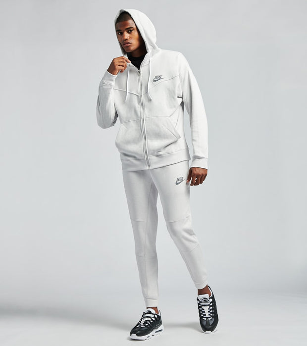 Nike  NSW Full Zip Hoodie  White - CW0304-910 | Jimmy Jazz