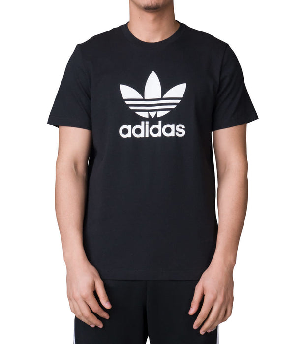 Adidas  Trefoil Tee  Black - CW0709-001 | Jimmy Jazz