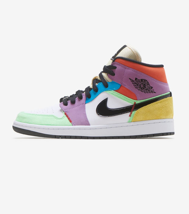 "Jordan  Air Jordan 1 Mid SE ""Lightbulb""  Multi - CW1140-100 