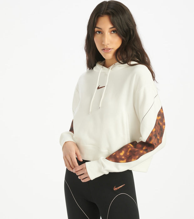 Nike  NSW Pullover Tortoise Hoodie  White - CW4716-133 | Jimmy Jazz