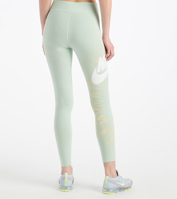 Nike  NSW Legasee Synthetic Gravity Tights  Green - CW4746-321 | Jimmy Jazz