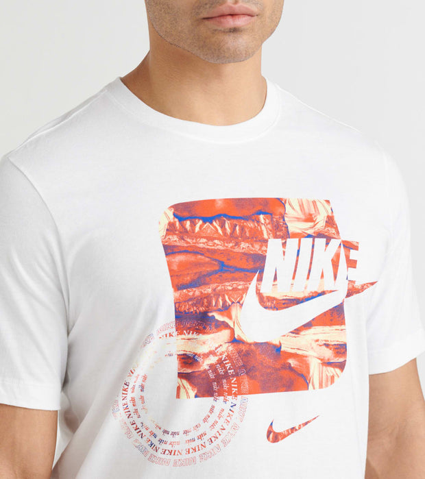 Nike  NSW Organic Distortion Tee  White - CW4803-100 | Jimmy Jazz