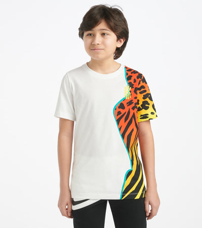 Nike  Kyrie Animal Print Tee  White - CW5358-100 | Jimmy Jazz
