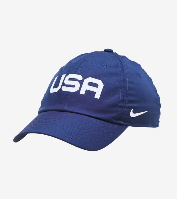 Nike  USA Heritage 86 Basketball Hat  Navy - CW6006-451 | Jimmy Jazz