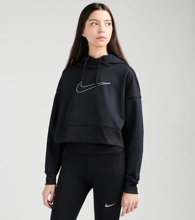 Nike  All Time Crop Pullover Hoodie  Black - CZ1101-011 | Jimmy Jazz