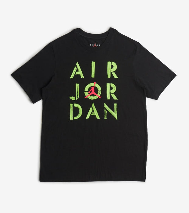 Jordan  MJ Stencil Graphic Tee  Black - CZ2957-011 | Jimmy Jazz