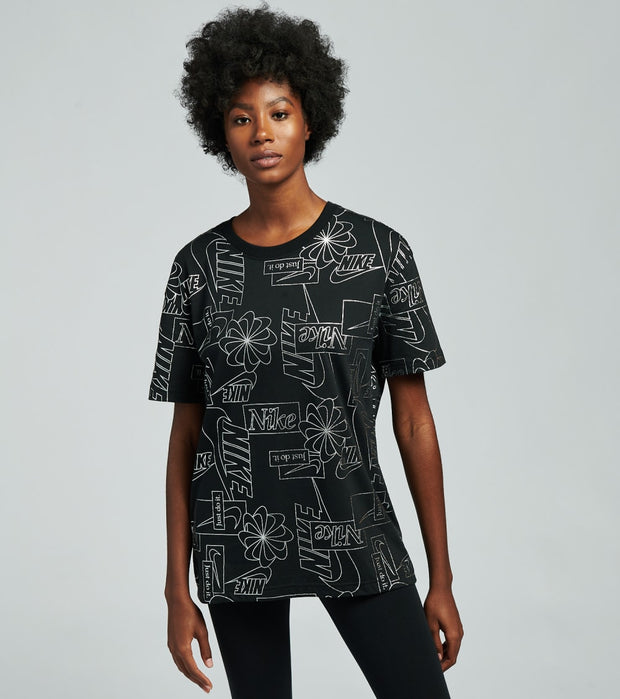 Nike  NSW Icon Clash Tee  Black - CZ4407-010 | Jimmy Jazz