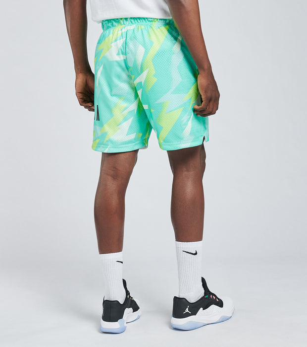 Jordan  MJ Jumpman Air Mesh Nylon All Over Print Shorts  Blue - CZ4757-675 | Jimmy Jazz