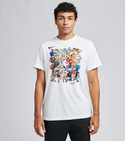 Nike  NBA Nike Dry Short Sleeve Tee  White - CZ6520-100 | Jimmy Jazz