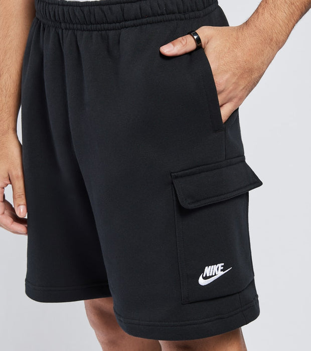 Nike  NSW Club Fleece Cargo Shorts  Black - CZ9956-010 | Jimmy Jazz