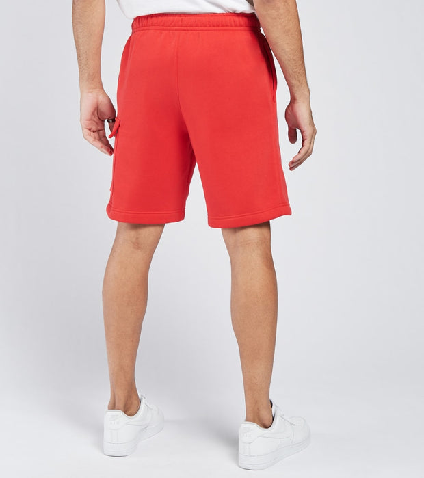 Nike  NSW Club Fleece Cargo Shorts  Red - CZ9956-657 | Jimmy Jazz