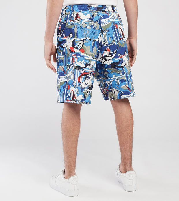 Iceberg  All Over Print Shorts  Blue - D0700088-SDX1 | Jimmy Jazz
