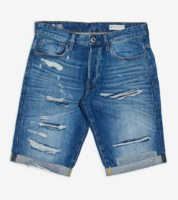 G-Star  Sato Denim Short  Blue - D074328973B166-BLU | Jimmy Jazz