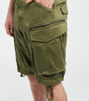 G-Star  Rovic Zip Relaxed Twill Shorts  Green - D085665126724-SGE | Jimmy Jazz