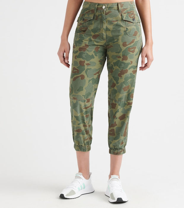 G-Star  Army Radar Mid Ankle Camo Pants  Green - D11648A809A055-SGB | Jimmy Jazz