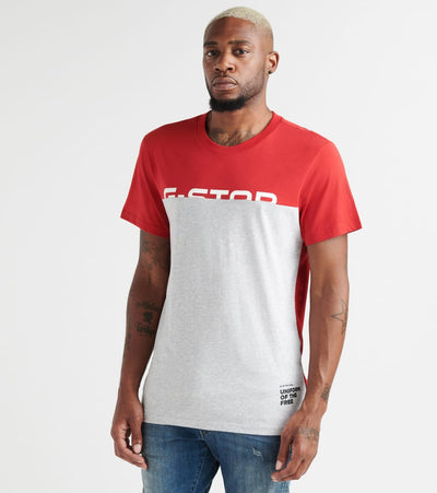 G-Star  Graphic 13 R Tee  Red - D129903361828-BRN | Jimmy Jazz