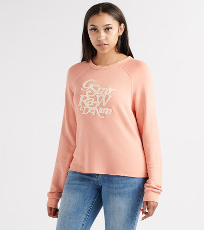 G-Star  Graphic 11 Xzula R Sweatshirt  Pink - D13034B1399184-SNT | Jimmy Jazz