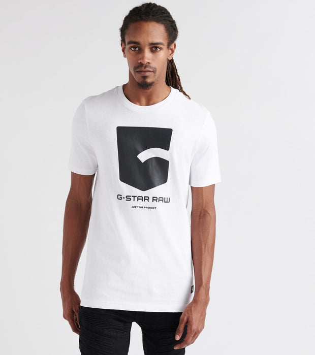 G-Star  Graphic 47 Tee  White - D133424561110-WHT | Jimmy Jazz