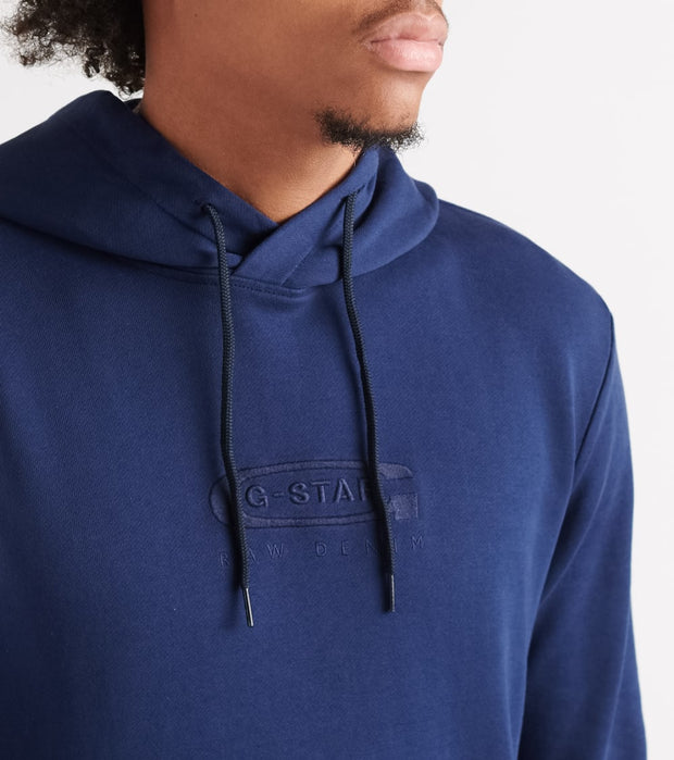 G-Star  Graphic 16 Core Pullover Hood  Blue - D15180B7151305-IBL | Jimmy Jazz