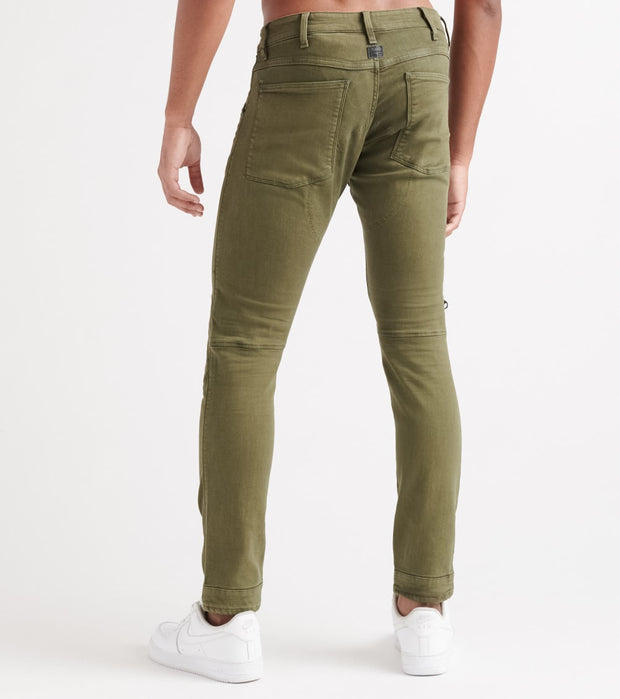 G-Star  5620 3D Zip Knee Skinny Coj Jeans  Green - D1518996167159-DRK | Jimmy Jazz
