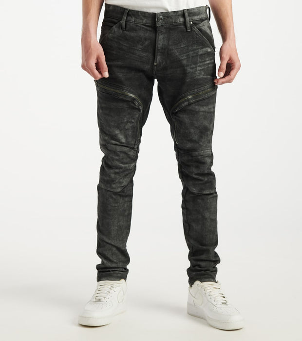 G-Star  Air Defence Zip Skinny Jean  Black - D15380A634B193-BLK | Jimmy Jazz